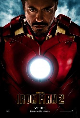 Железный человек 2 / Iron Man 2 (2010): постер