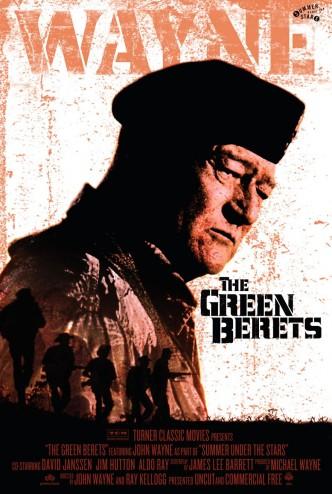 Зелёные береты / The Green Berets (1968): постер