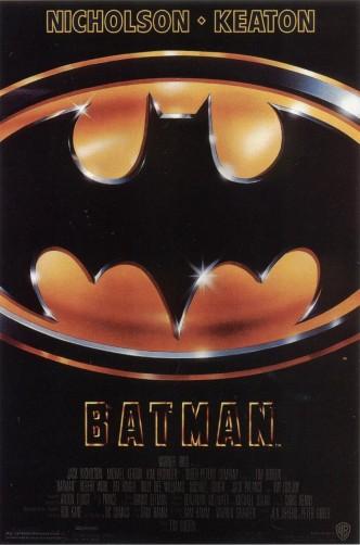 Бэтмен / Batman (1989): постер