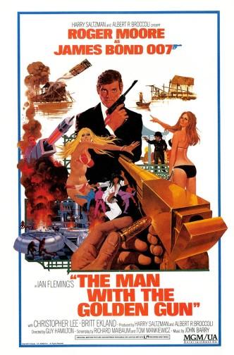 Человек с золотым пистолетом / The Man with the Golden Gun (1974): постер