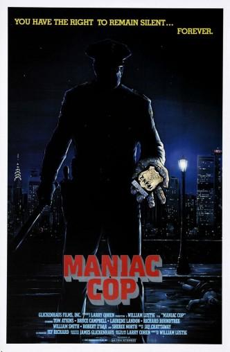 Маньяк-полицейский / Maniac Cop (1988): постер