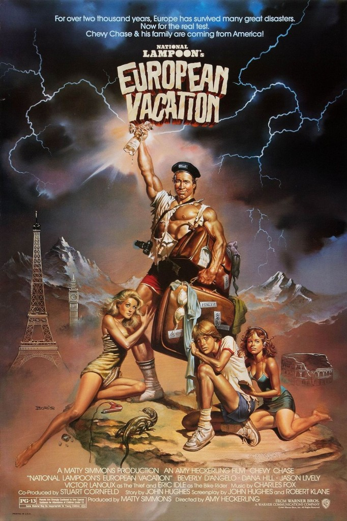 Отпуск в Европе / European Vacation (1985): постер