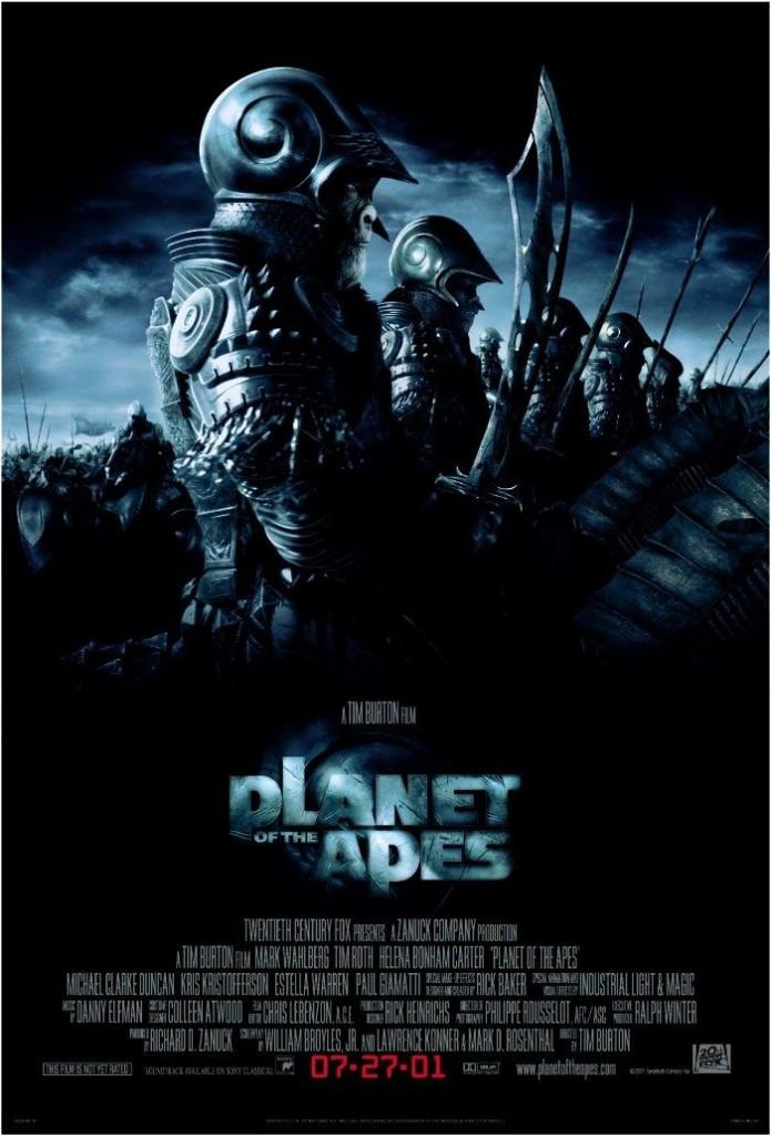 Планета обезьян / Planet of the Apes (2001): постер