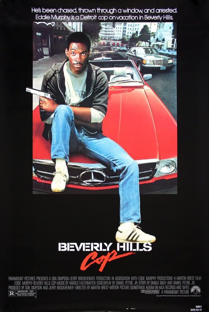 Полицейский из Беверли-Хиллз / Beverly Hills Cop (1984): постер