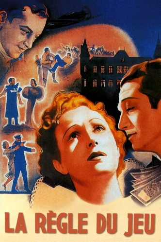 Правила игры / La règle du jeu (1939): постер