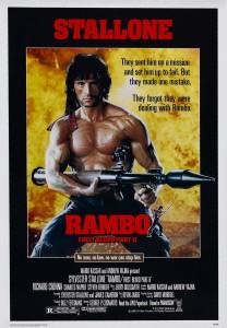 Рэмбо: Первая кровь 2 / Rambo: First Blood Part II (1985): постер