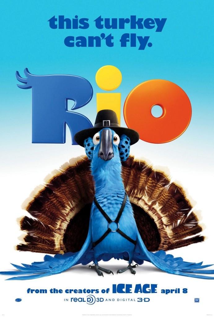 Рио / Rio (2011): постер