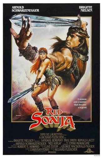 Рыжая Соня / Red Sonja (1985): постер