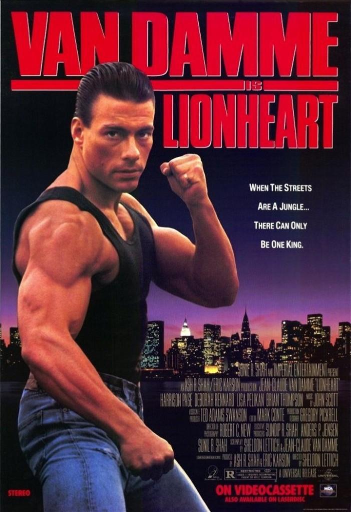 Самоволка / Lionheart (1990): постер
