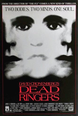 Связанные насмерть / Dead Ringers (1988): постер