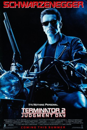 Терминатор 2: Судный день / Terminator 2: Judgment Day / Terminator 2 – Le jugement dernier (1991): постер