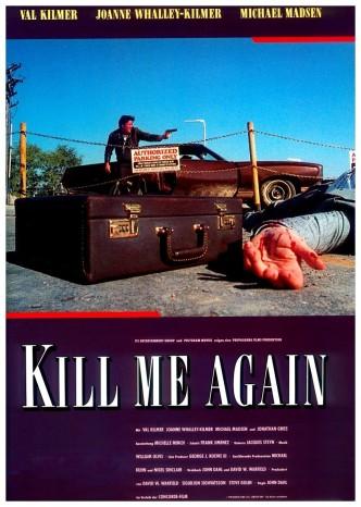 Убей меня снова / Kill Me Again (1989): постер