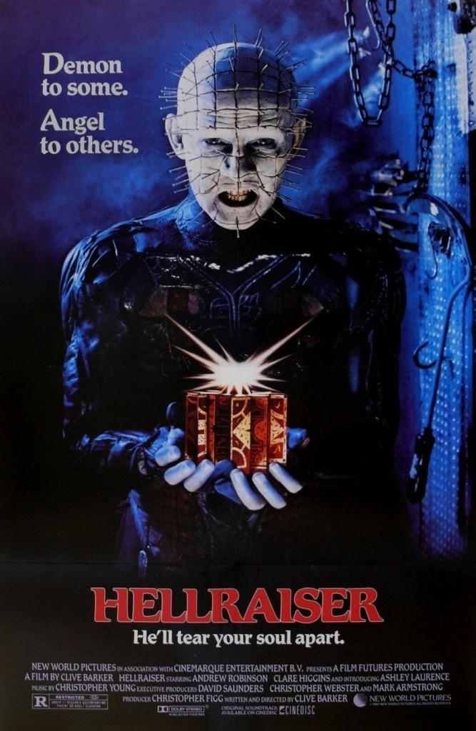 Восставший из ада / Hellraiser (1987): постер
