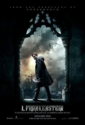 Я, Франкенштейн / I, Frankenstein (2014): постер