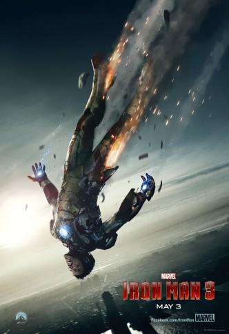Железный человек 3 / Iron Man Three / Gang Tie Xia 3 (2013): постер
