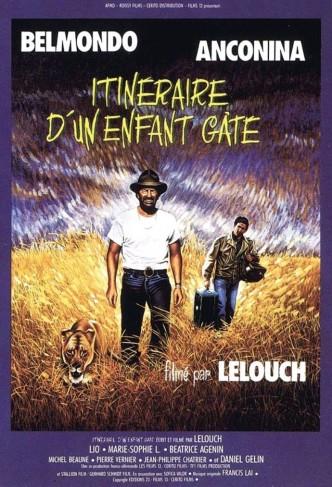 Баловень судьбы / Itinéraire d'un enfant gâté (1988): постер