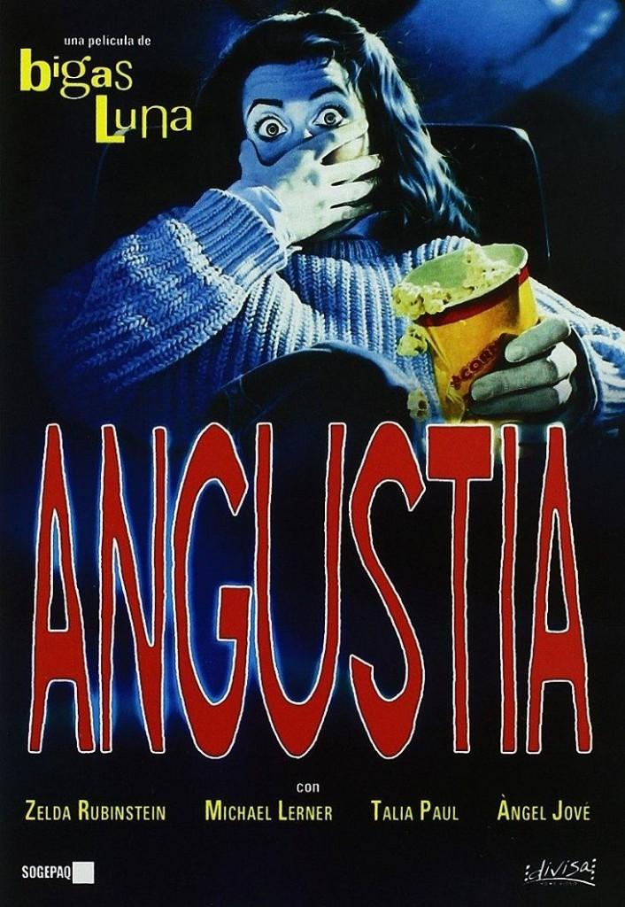 Боль / Angustia (1987): постер