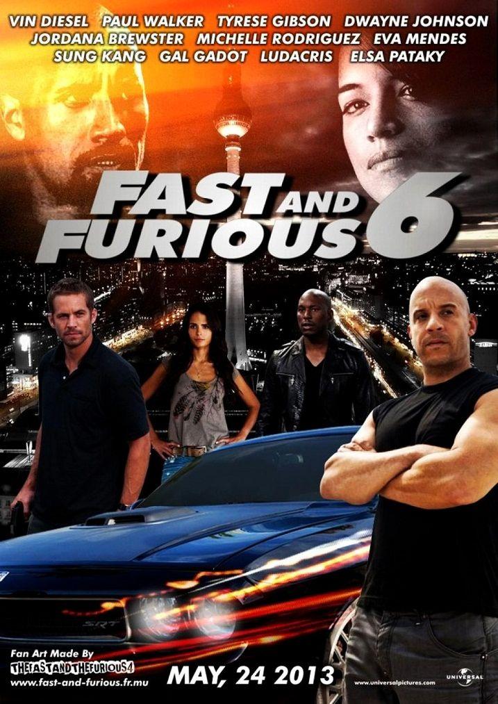Форсаж 6 / Furious 6 (2013): постер