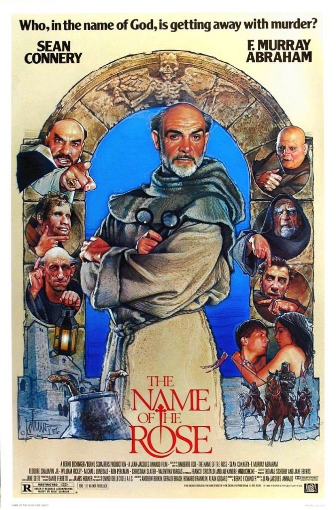 Имя розы / Il nome della rosa / Der Name der Rose / Le nom de la rose (1986): постер