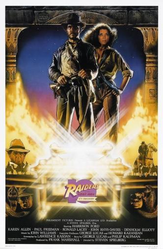 Индиана Джонс: В поисках утраченного ковчега / Raiders of the Lost Ark (1981): постер