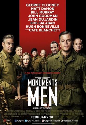 Охотники за сокровищами / The Monuments Men (2014): постер