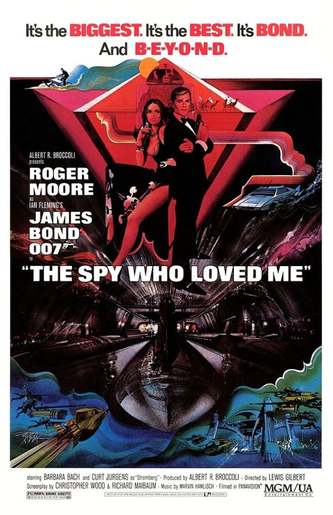 Шпион, который меня любил / The Spy Who Loved Me (1977): постер
