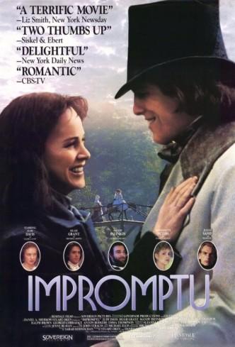 Экспромт / Impromptu (1991): постер