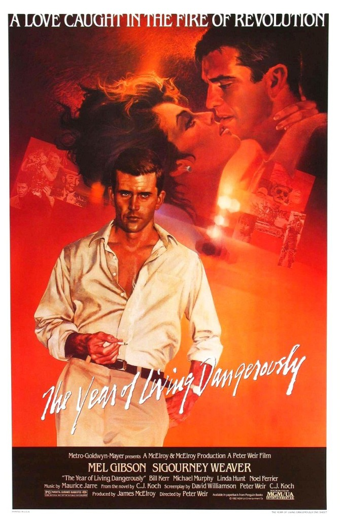 Год, опасный для жизни / The Year of Living Dangerously (1982): постер