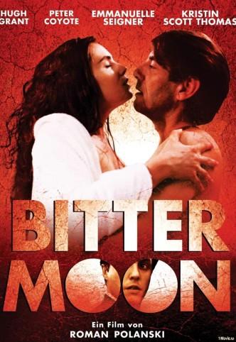 Горькая луна / Lunes de fiel / Bitter Moon (1992): постер