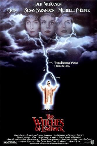 Иствикские ведьмы / The Witches of Eastwick (1987): постер