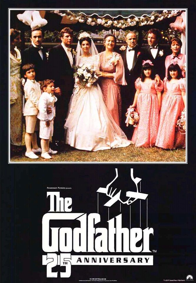 Крёстный отец / The Godfather (1972): постер
