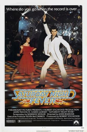 Лихорадка субботнего вечера / Saturday Night Fever (1977): постер