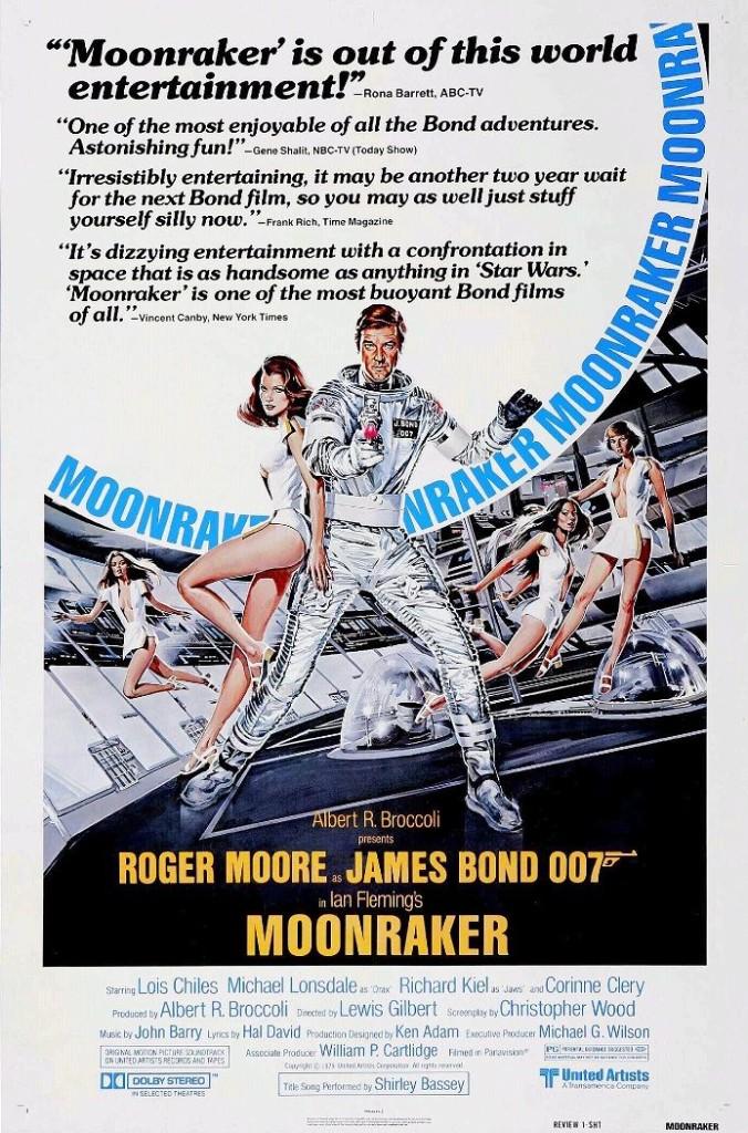 Лунный гонщик / Moonraker (1979): постер