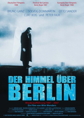 Небо над Берлином / Der Himmel über Berlin (1987): постер