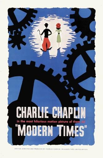 Новые времена / Modern Times (1936): постер