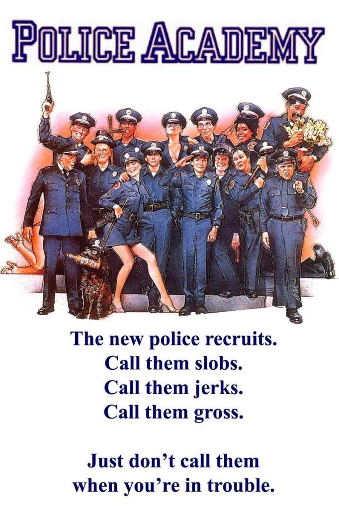 Полицейская академия / Police Academy (1984): постер