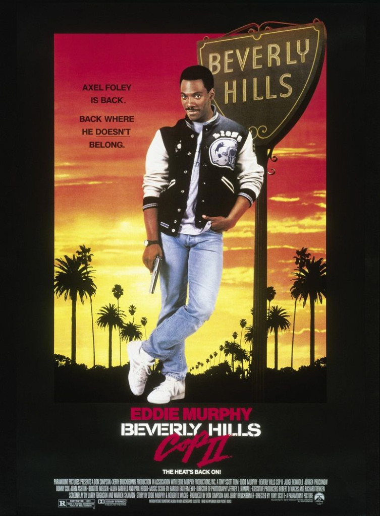 Полицейский из Беверли-Хиллз 2 / Beverly Hills Cop II (1987): постер
