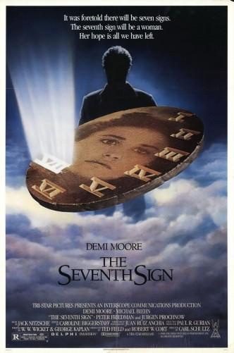Седьмое знамение / The Seventh Sign (1988): постер