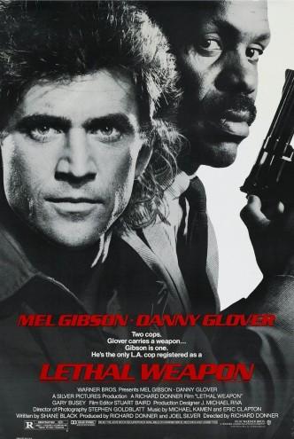 Смертельное оружие / Lethal Weapon (1987): постер