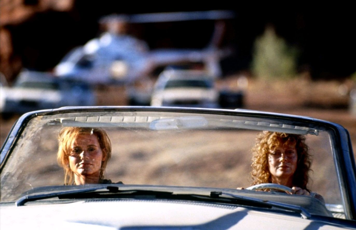 the common stereotyped male in the movie thelma and louise The violence may decrease as the movie progresses, but thelma, louise the stereotypes they're the male audience felt when thelma and louise took a.