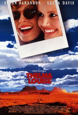 Тельма и Луиза / Thelma & Louise (1991): постер