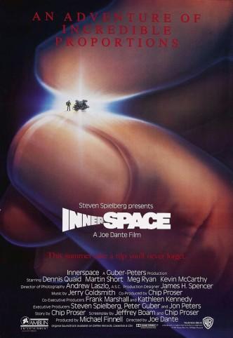 Внутреннее пространство / Innerspace (1987): постер