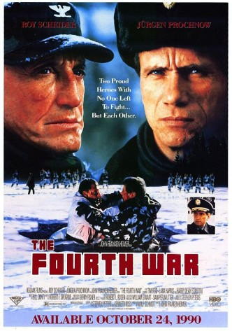 Четвёртая война / The Fourth War / La quatrième guerre (1990): постер