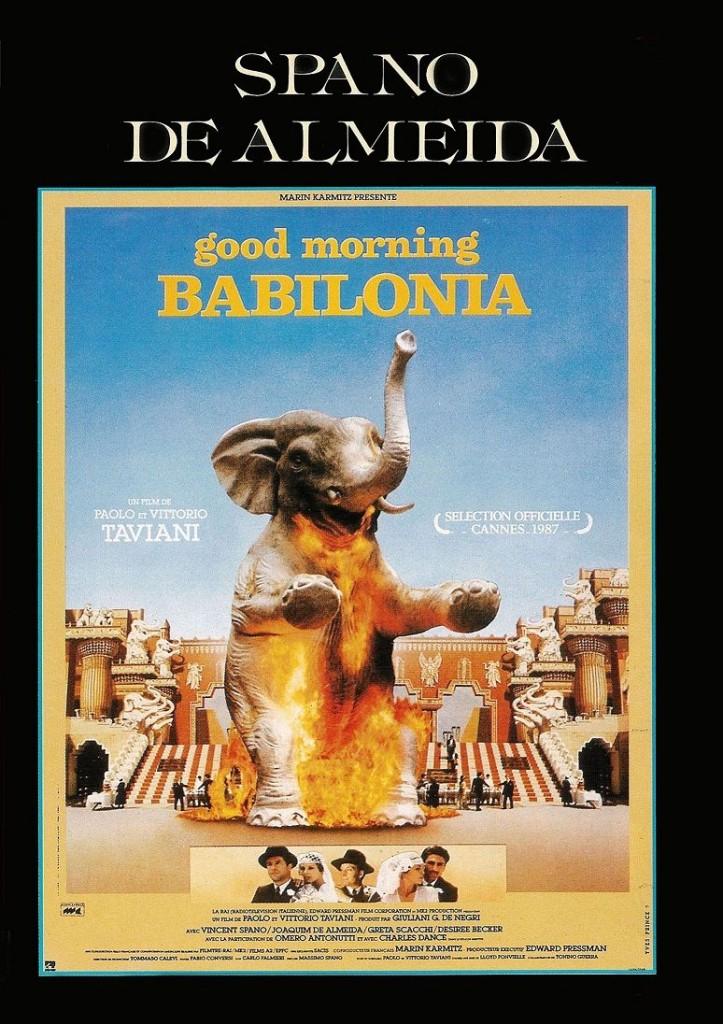 Доброе утро, Вавилон / Good morning Babilonia / Good Morning, Babylon (1987): постер