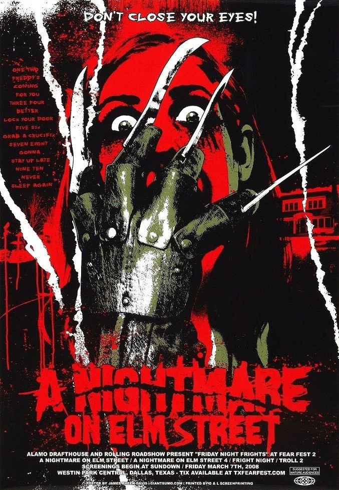 Кошмар на улице Вязов / A Nightmare on Elm Street (1984): постер