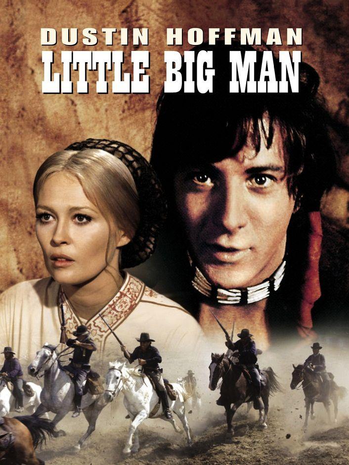 Маленький большой человек / Little Big Man (1970): постер