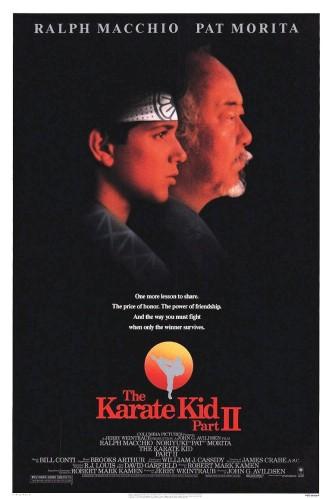 Малыш-каратист 2 / The Karate Kid, Part II (1986): постер
