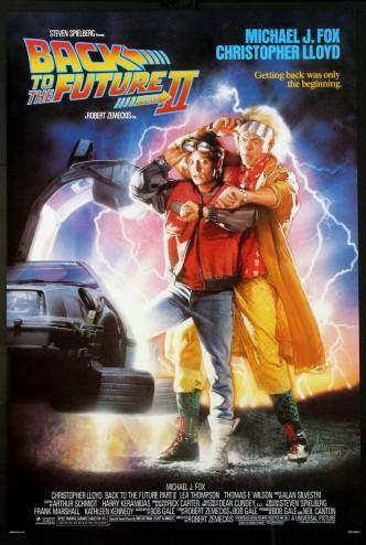 Назад в будущее 2 / Back to the Future Part II (1989): постер