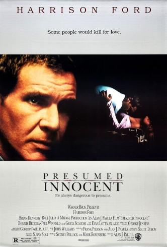 Презумпция невиновности / Presumed Innocent (1990): постер