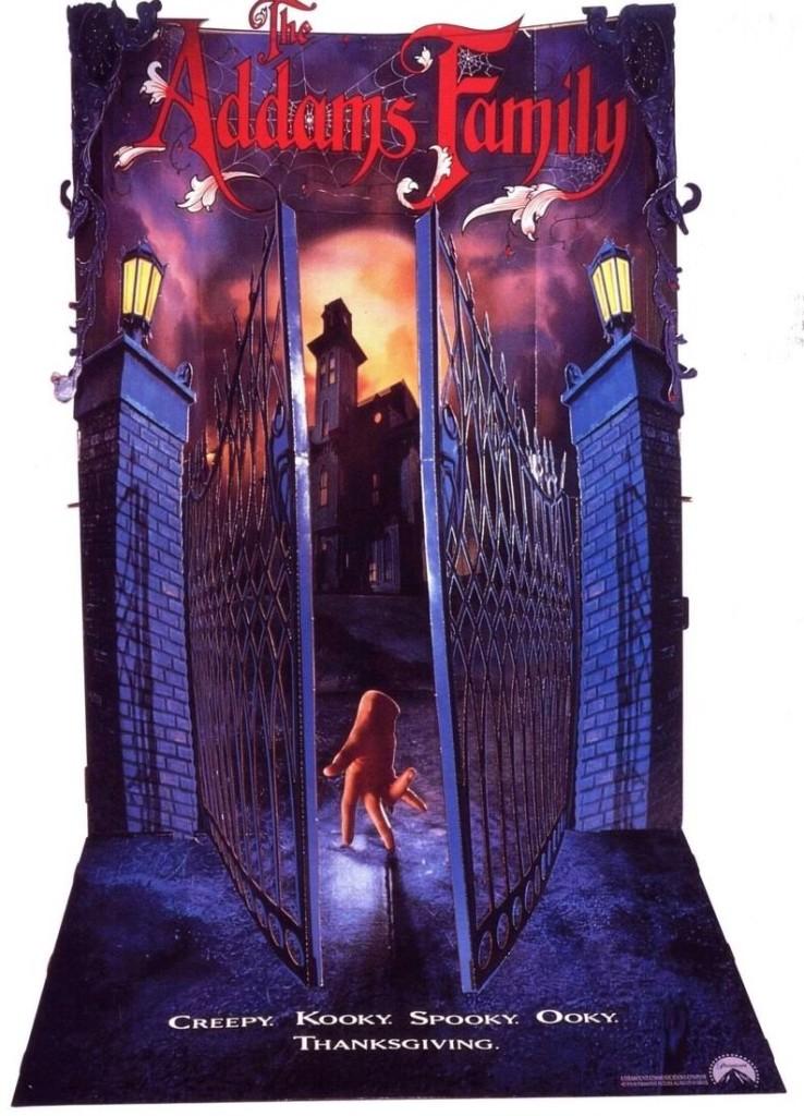 Семейка Аддамс / The Addams Family (1991): постер